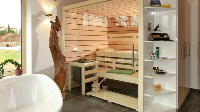 Badezimmer-Sauna